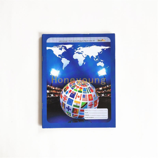 UV Coated World Map 60gsm Paper Printed Exercise Book Notebook Manufacturers FEB-12