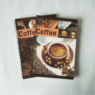 Round Corner Custom LOGO Double Spiral Notebook SN-2