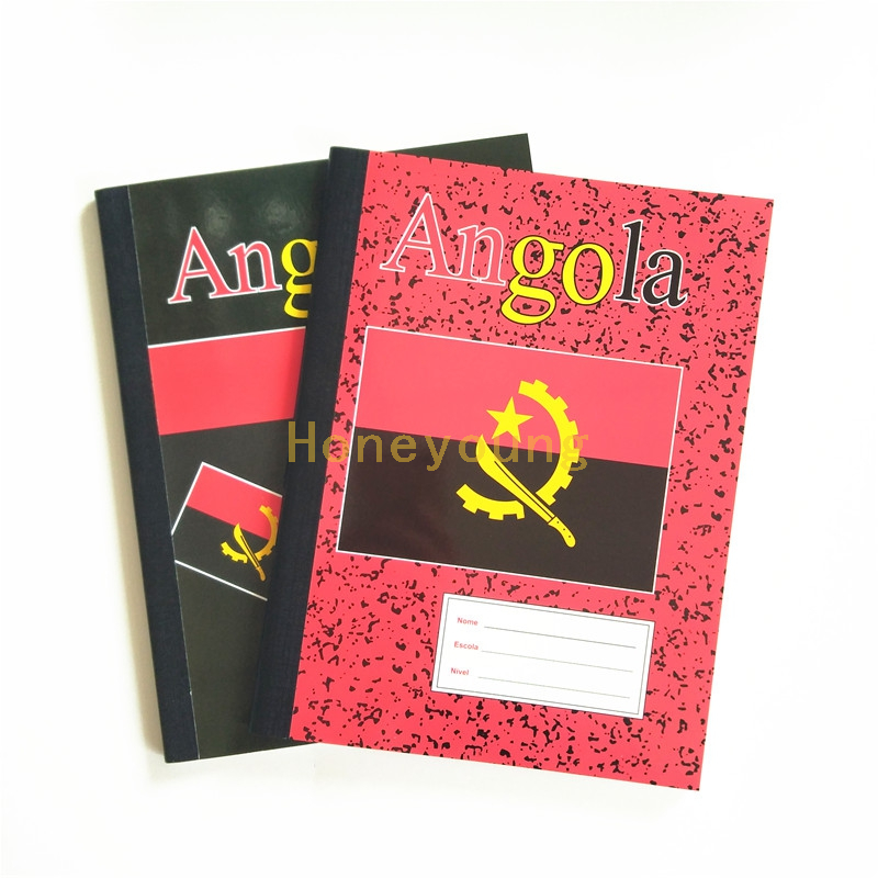 Custom Color Single Line Printing Compositiom Book for Angola CB-2