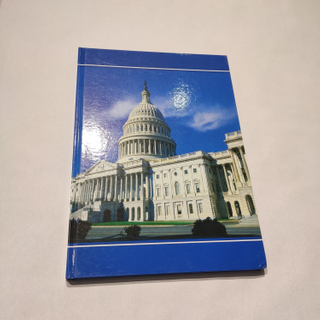High Quality Good Sale Famous Building French Ruling Hard Cover Notebook HCN-19