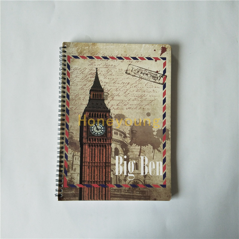 Cheap Price Soft Cover Custom Design Spiral Binding Notebook SN-1