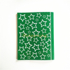Star Design Green Color French Line Printing Compositiom Book CB-5