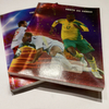 Soccer Stars Cover School Copies French Ruling Government Oder Glue Binding Notebook GBN-09
