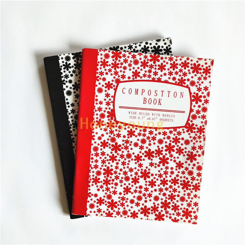 48 Sheets Custom Design Cheap Price Composition Book CB-1