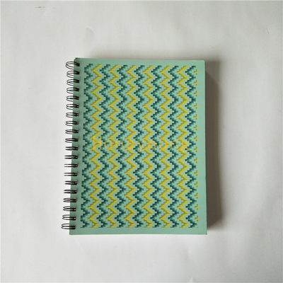 26.2* 20cm 300pages Custom LOGO Spiral Notebook with Colorul Deviders SN-7